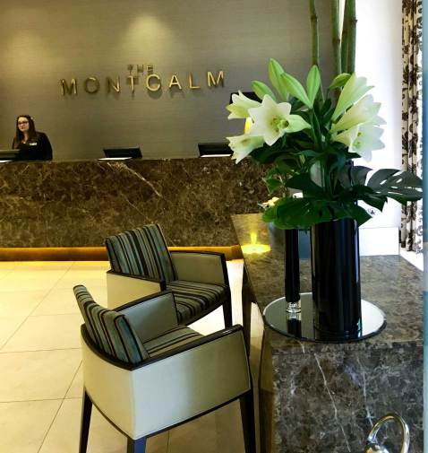The Montcalm is an oasis of serenity
