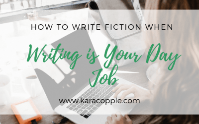 How to Write Fiction When Writing is Your Day Job