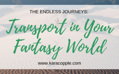 The Endless Journeys: Transport in Your Fantasy World