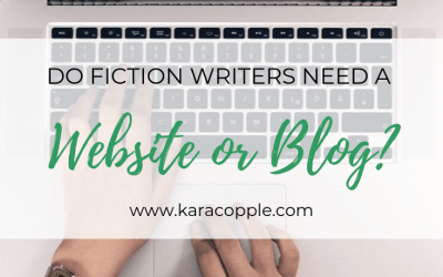 Do Fiction Writers Need a Website or Blog?