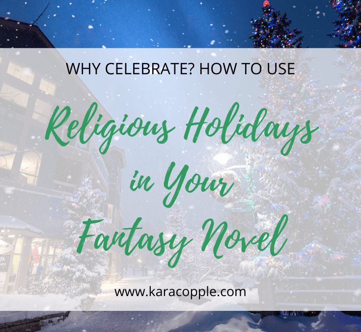 religious holidays in fantasy novel