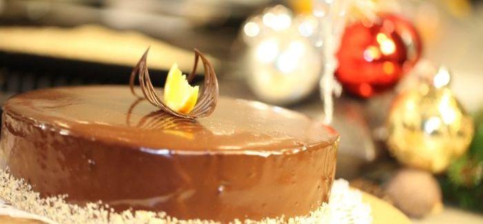 Karácsonyi csoki torta – recept, videó
