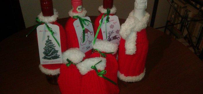 Kreatív karácsonyi ötlet! Így csomagold be az italokat