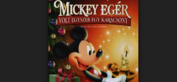 Karácsonyi rajzfilm – Mickey egér – Volt egyszer egy karácsony teljes mese
