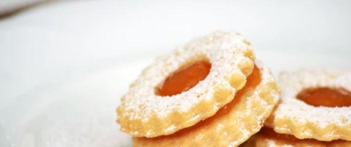 Karácsonyi süti – linzer karika – recept, videó