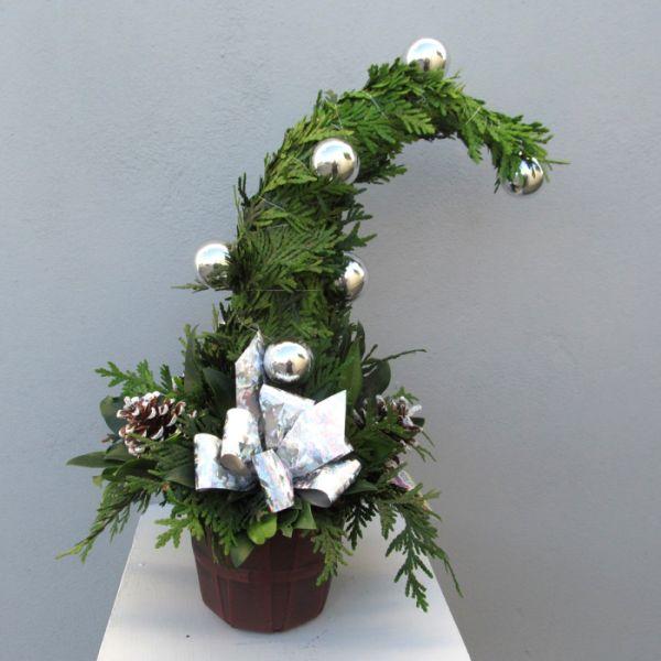Karácsony, grincsfa, fotó, ötlet, manófa