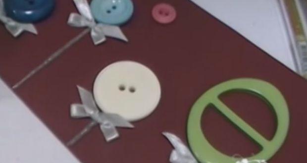 Karácsonyi képeslap készítése - videó