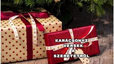 Karácsonyi versek a szeretetről
