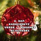 A nap karácsonyi verse - érdemes elolvasni