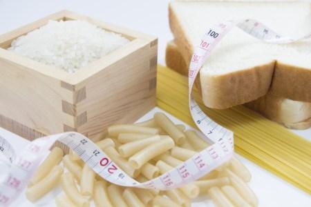 糖質を意識して簡単にダイエット