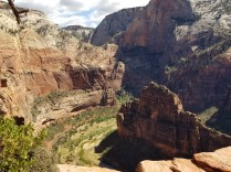 Angel's Landing - view from the top
