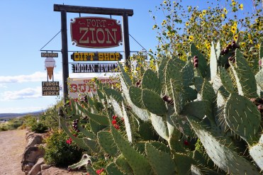 Zion Fort Cactus Beachin Traveler