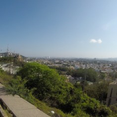 Over-looking Mazatlan from the residential area