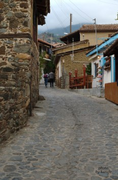 Alley in Kakopetria village