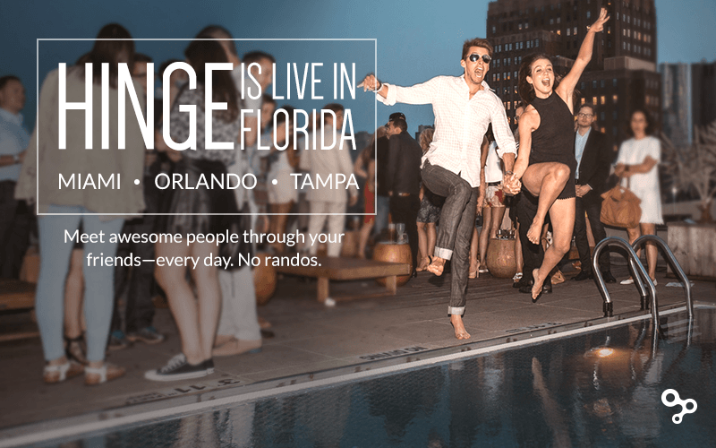 Hinge Dating App Launches In Miami