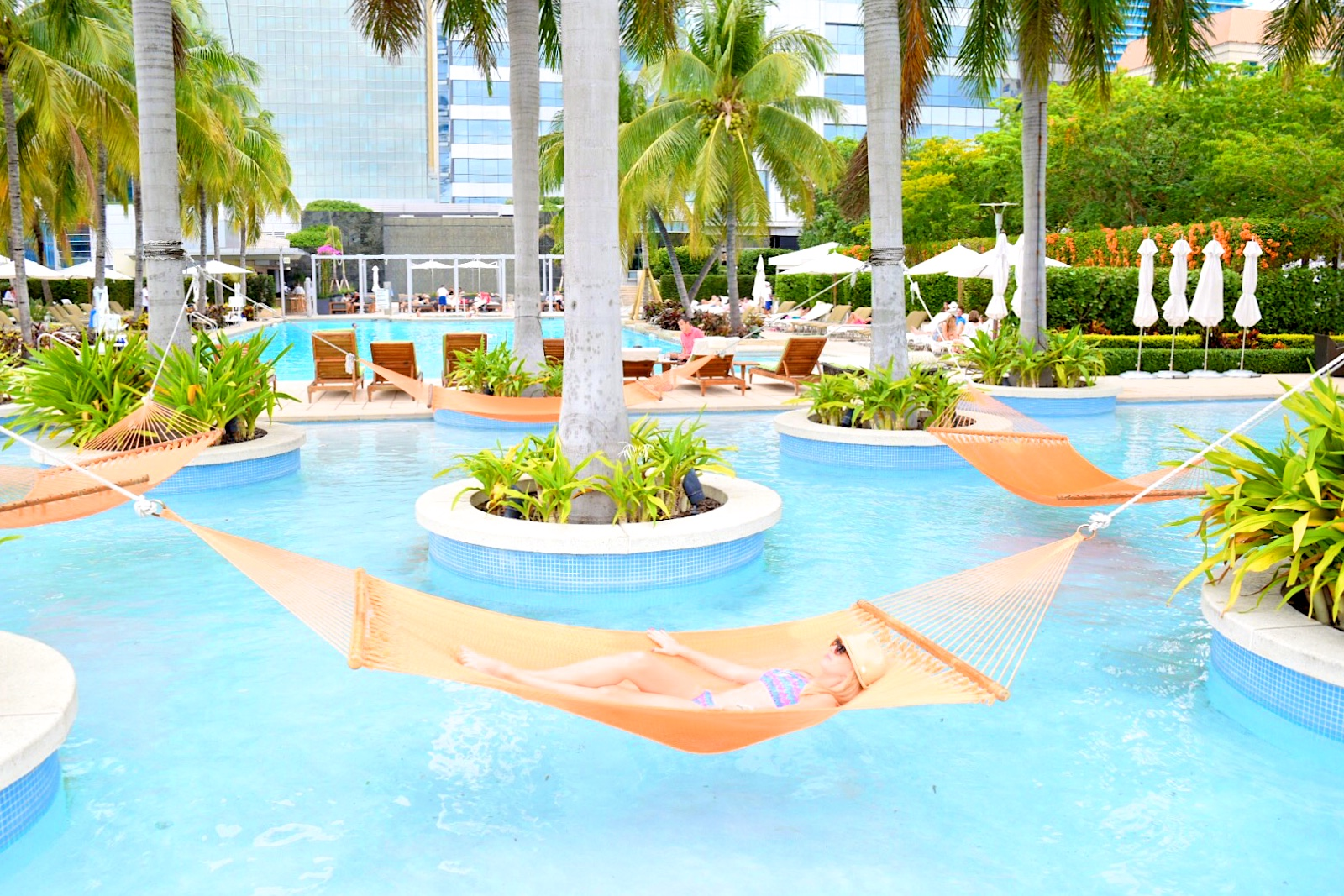 key west hammock chairs tan leather chair and ottoman happy hour hammocks at four seasons hotel miami