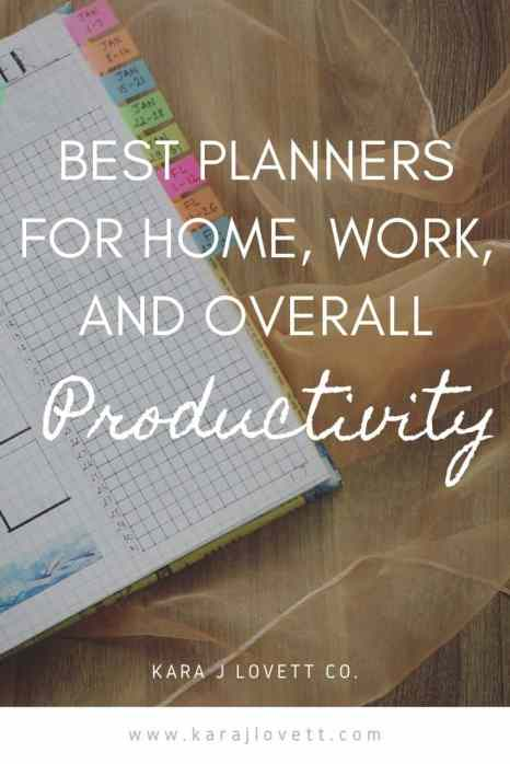 best planners for productivity - 4