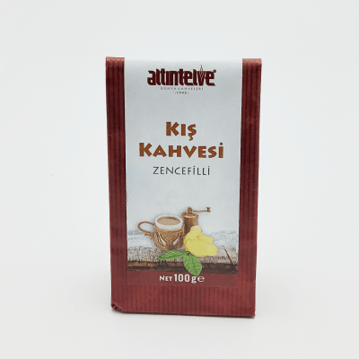 Altintelve Turkish Coffee With Ginger 100gr