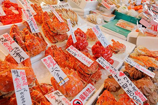 札幌二條市場|観光情報|からくさホテル札幌【公式】