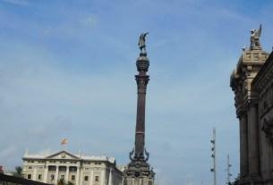 Piemineklis K. Kolumbam Barselonā