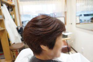 40代ショートヘア