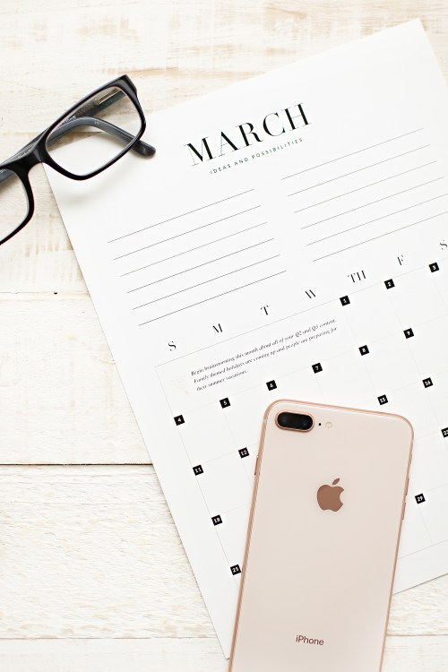 The 2018 Blog Planner. Ultimate organization for content creators and bloggers. Organize your blog and all that comes with it with this amazing tool created by Kara Layne & Co. #Blogger #BlogOrganization #BlogPlanner