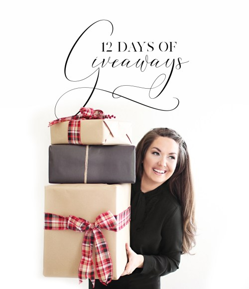 12 Days of Giveaways with Haus of Layne! Kick off the holiday season and come join the party over on Instagram!