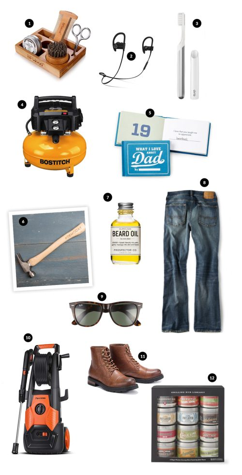 Father's Day 2019 gift guide. Catch my top twelve ideas and what my husband said he would love to get this year! All of it on Haus of Layne #FathersDayGiftIdeas #FathersDay2019 #GiftIdeasforDad #GiftIdeasforHim