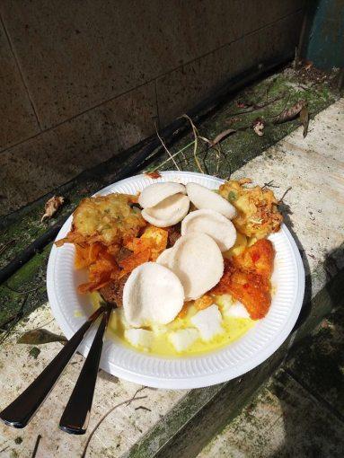 Ketupat!! Food Indonesians eat on Idul Fitri / Eid Fest