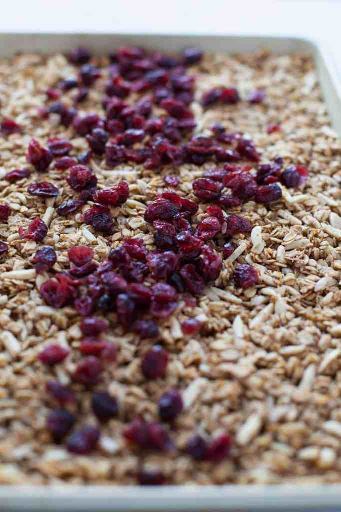 Holiday Cranberry Granola
