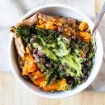 Vegan Sweet Potato | The Foodie Dietitian @karalydon