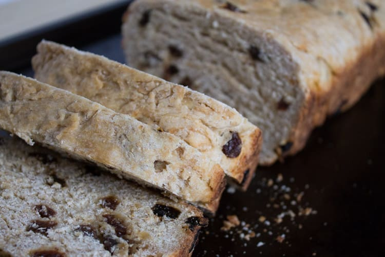 Gram's Irish Raisin Bread-2