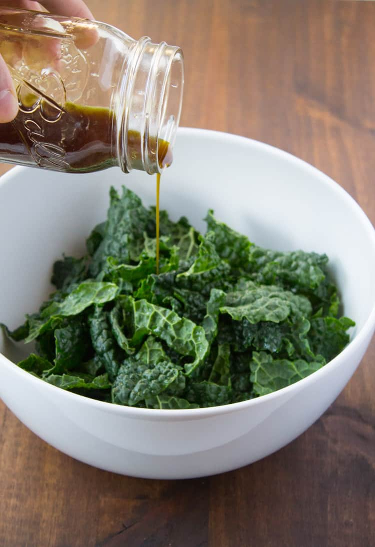 Kara Lydon Harvest Kale Salad With Pumpkin Seed Oil
