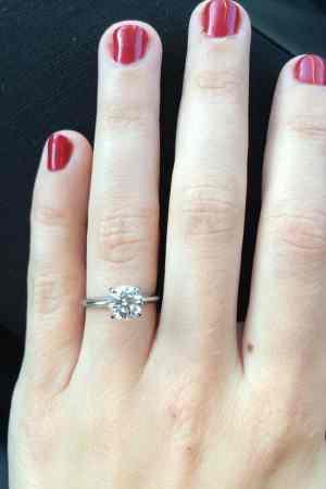 Kara Lydon Engagement Christmas