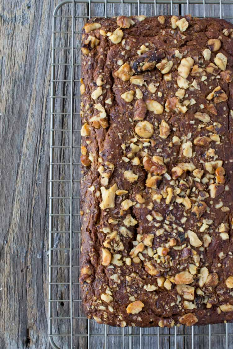 Whole Wheat Butternut Squash Banana Bread-1-2