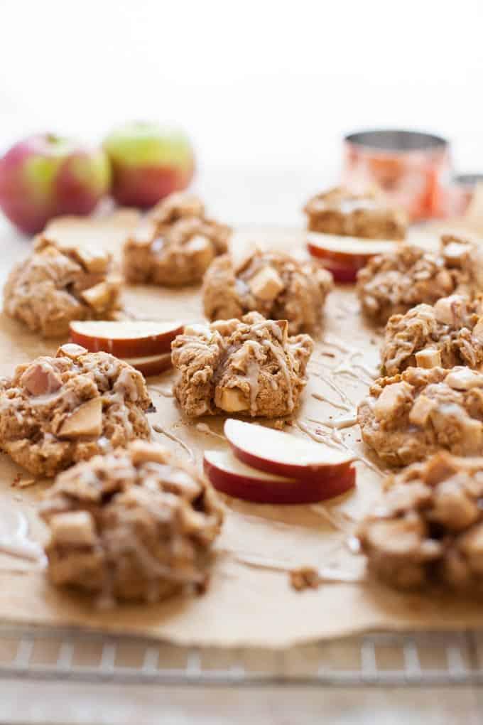 Apple Cinnamon Scuffins (scone and muffin!)