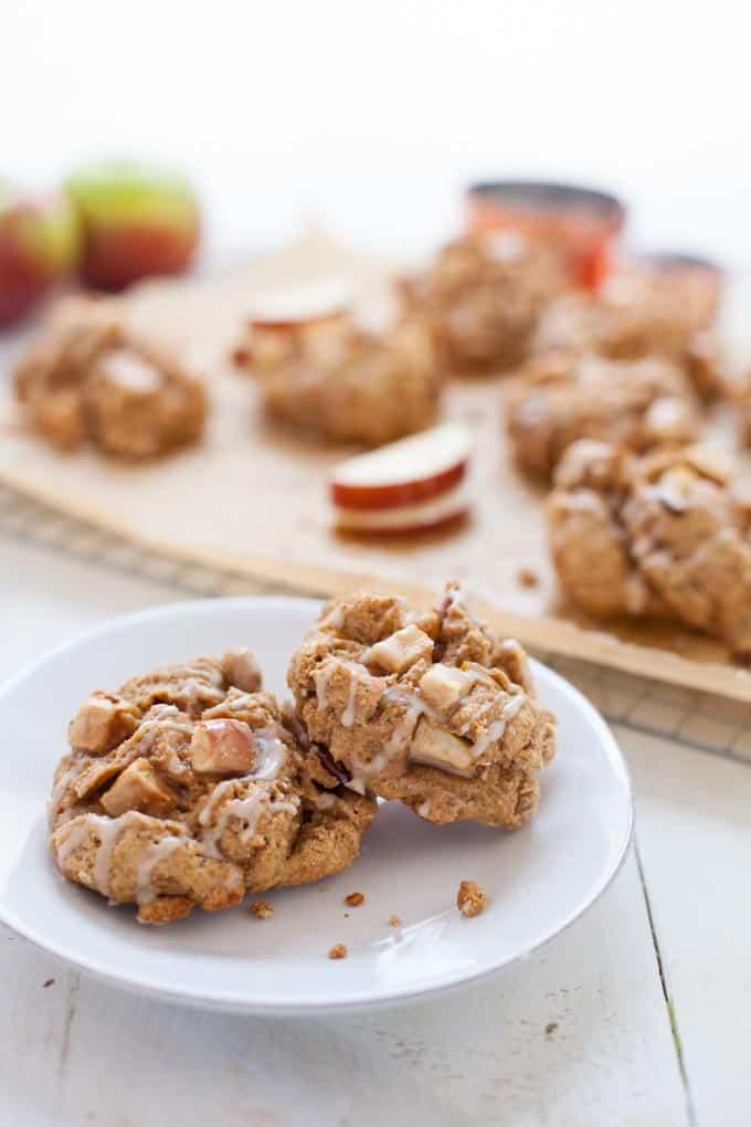 Apple Cinnamon Scone Muffins, aka Scuffins!