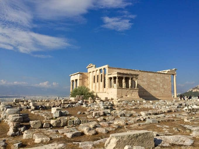 top 10 things to do on your honeymoon in greece. parthenon, athens.