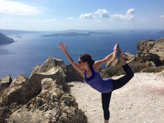 hike in santorini. top 10 things to do on your honeymoon in greece