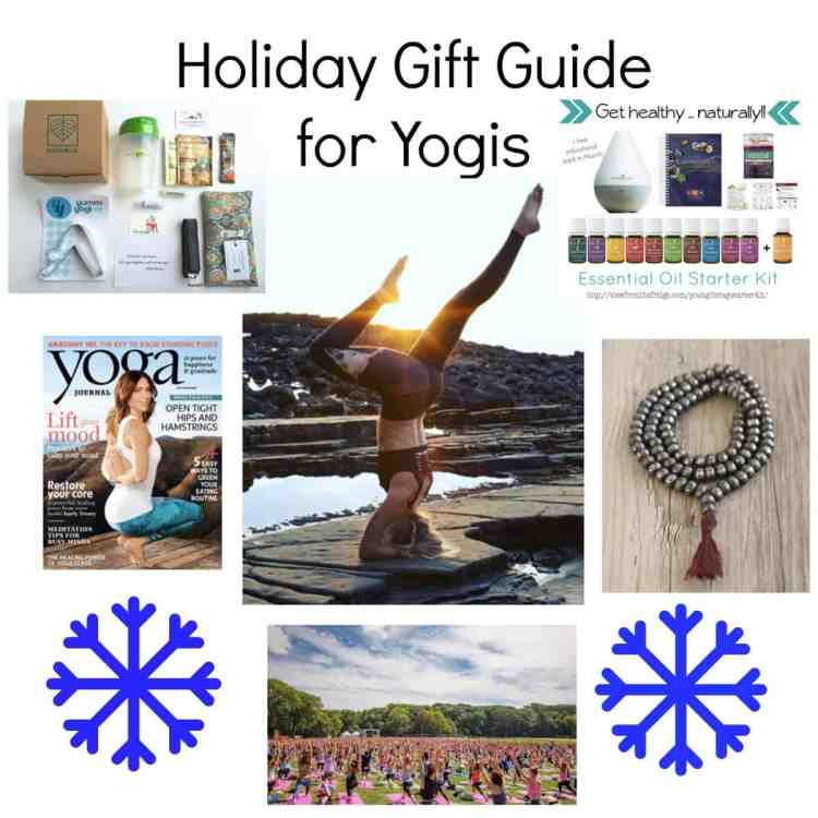 Have a beloved yogi or yogini in your life? I'm dishing my top 10 yoga-inspired gift ideas in this 2016 holiday yoga gift guide!