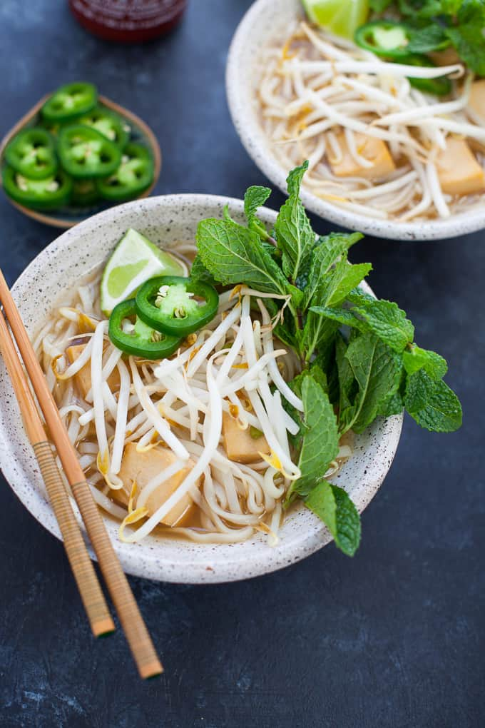 Instant Pot Vegetarian Pho - vegan, gluten-free