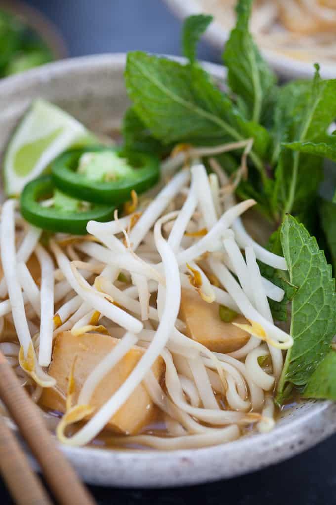 Vegetarian Pho with Tofu