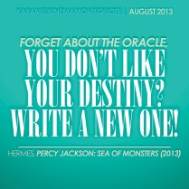 2013 August | Percy Jackson: Sea of Monsters