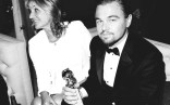 Leonardo DiCaprio and his award :)