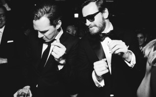 Beauty and the beat: Cumberbatch and Fassbender!