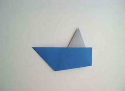 How to make a boat from paper? Instruction folding paper boat do it yourself stage 33