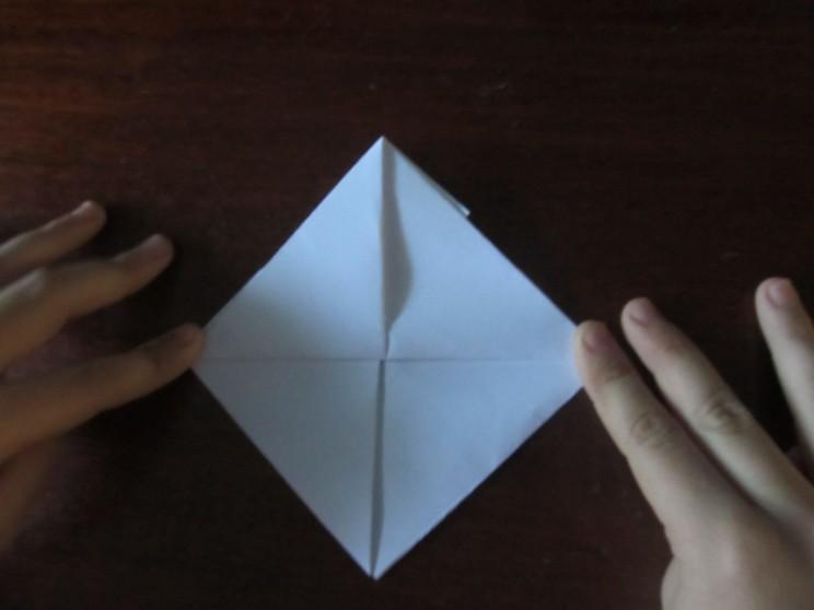 Hoe maak je een boot van papier? Instructie opvouwbare papierboot Doe het zelf fase 20