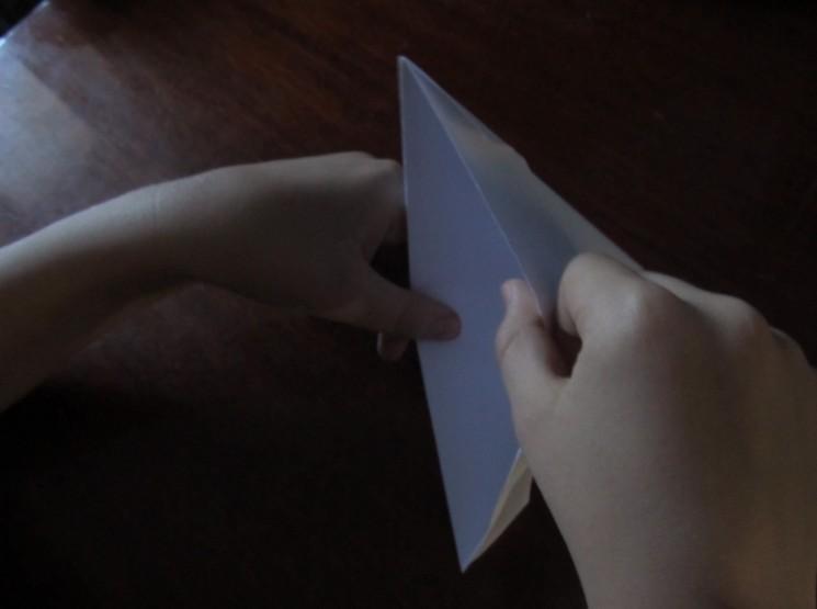 Hoe maak je een boot van papier? Instructies voor opvouwbare papierboot Doe het zelf stap 17