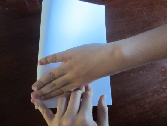 How to make a boat from paper? Instruction folding paper boat do it yourself stage 9