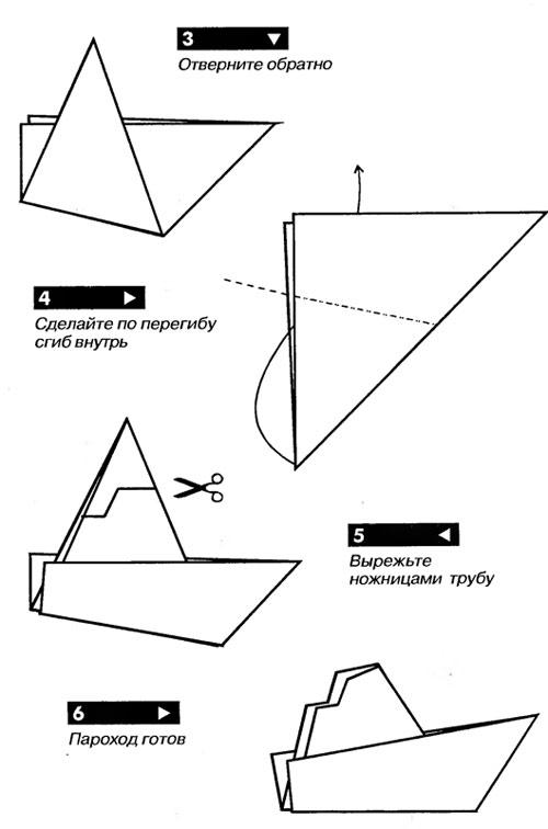 Hoe maak je een boot van papier? Instructies voor opvouwbare papierboot Doe het zelf fase 47